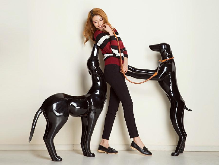 Best Quality Customize Design Dog Model Dog Mannequin Factory Direct Sell
