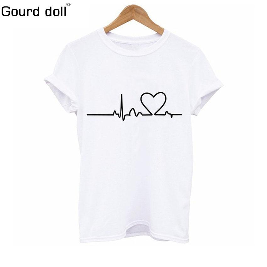 Plus Size S-2XL Harajuku Summer T Shirt Women New Arrivals Fashion Printed T-shirt Woman Tee Tops Casual Female T-shirts
