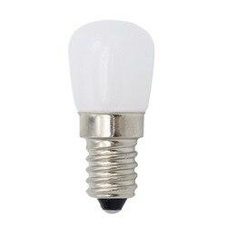 Mini Lamparas Refrigerator Light E14 E12 LED Lamp 3W COB Glass AC 220V 110V Spotlight Bulbs Freezer Fridge Chandelier