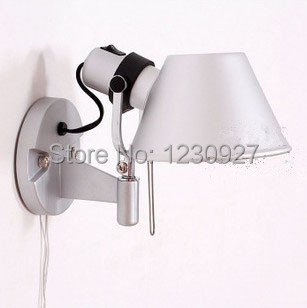 High power 3W Hot sale indoor High quality led lighting lamps fashion wall lamp bed-lighting wall lights with switch