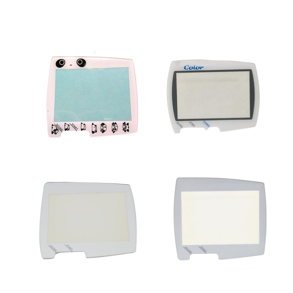 10PCS Handheld Game Player Plastic Glass Screen Lens Protector For BANDAI For WSC WS For Wonderswan Color