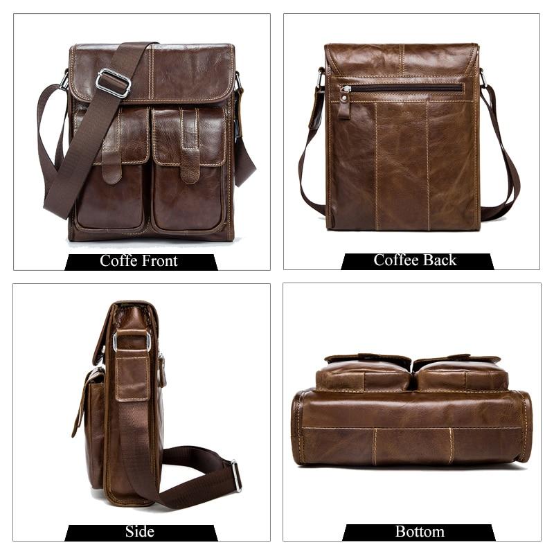e0cd1a86e9 WESTAL Genuine Leather bag men bags Men Messenger Bags male small flap  Vintage Leather shoulder crossbody bags for man 366 on Aliexpress.com