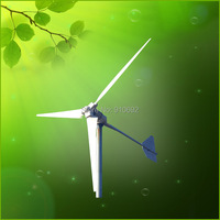 5kW 220v low rpm hotrizontal wind generator high efficient home use