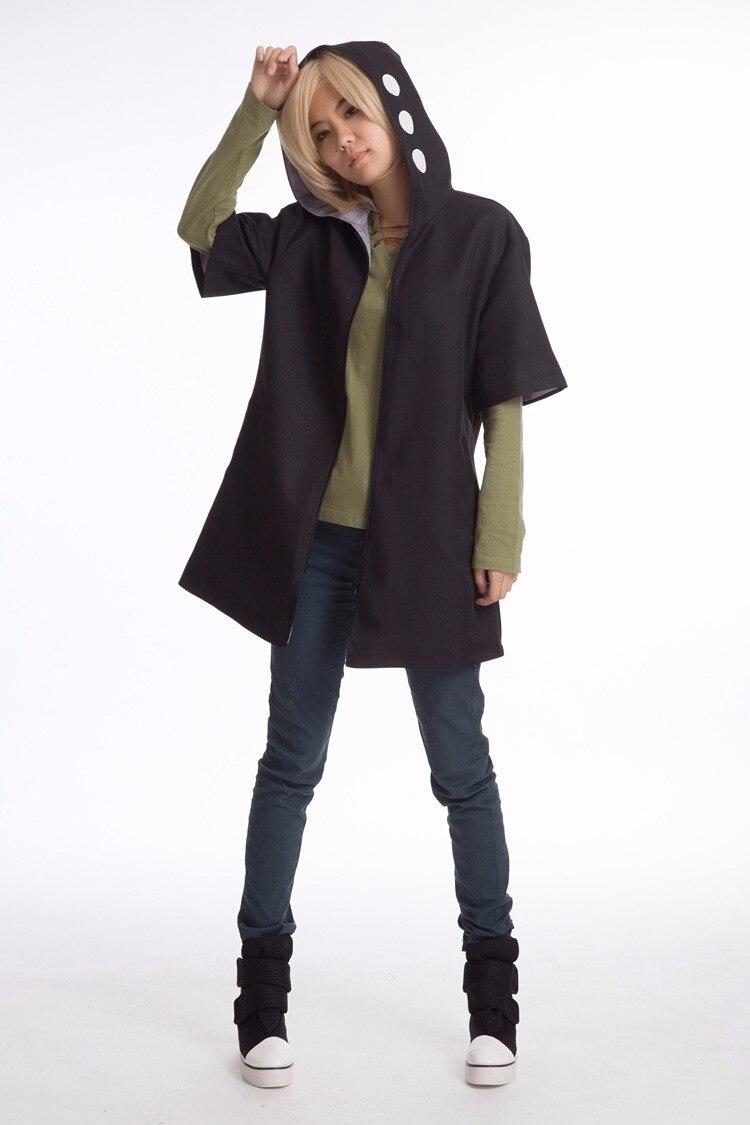 Kagerou Projet MekakuCity Acteurs KANO SHUUYA sweatshirt à capuche unisexe Cosplay Costume (Cape + Chemise) Brume De Chaleur Projet Veste À Capuche