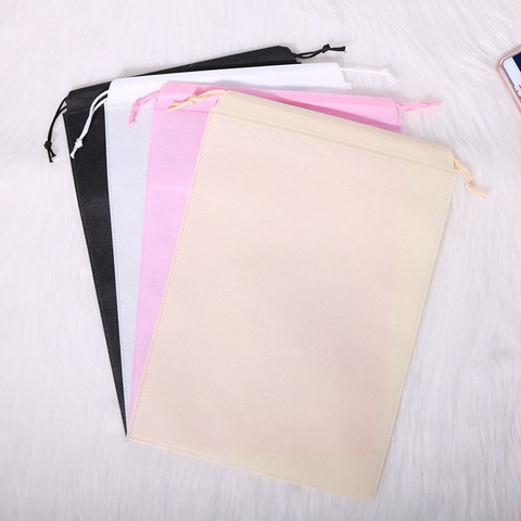 Bolsa com Cordão Bolsas de Embalagem Bolsa de Corda Bolsa de Impressão Promocional Personalizado Reutilizável Logotipo Próprio Eco