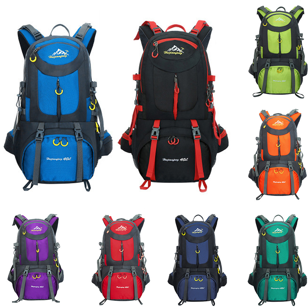 Trekking Blue 50l Per purple In Nylon Campeggio Del Zaino Da 40l red Di Arrampicata fruit Viaggiare Sport orange Blue Blue peacock Sky Esterno Green Zaini Impermeabile Sacchetto dark black fxwdwqY