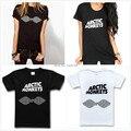 2015 Mujeres Camiseta Harajuku Banda Arctic Monkeys Print Cotton Casual camisa De Top Tee Plus Tamaño Hipster Última Nave de La Gota TZ20-806