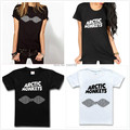 2015 Women Tshirt Harajuku Arctic Monkeys Band Print Cotton Casual Shirt For Top Tee Plus Size Hipster Latest Drop Ship TZ20-806