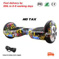 6 5 Inch 2 Wheels Smart Electric Hoverboards With LED Light Carrying Bag