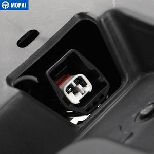 Image 5 - MOPAI License Plate for Jeep Wrangler JK 2007 Up Car Rear License Plate Mounted Part Screws Bottle Opener Decoration Car Styling