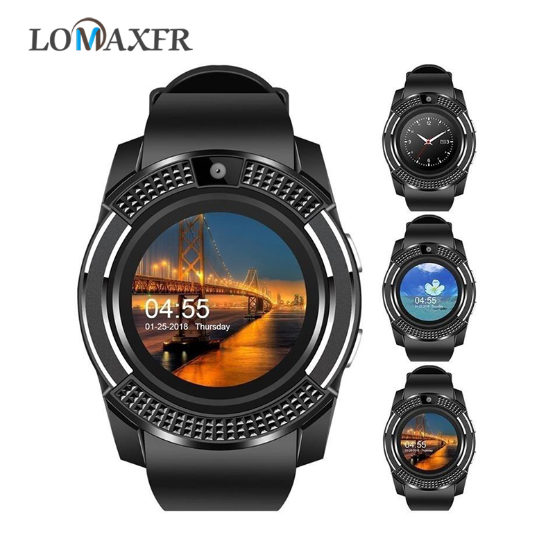 Android Smartwatch Watch-Phone Sim-Card Bluetooth Pk-Dz09 V8 Sport Passometer Ip67 Waterproof