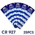 Pila de botón 25 Unids 3 V Pilas de botón de Litio CR927 DL927 BR927 ECR927 5011LC 927 EE6259
