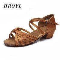2014 Hot Selling 11 Colors High Quality Children Latin Dance Shoes Economic Shoes Ballroom Dance Shoes