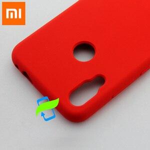 Image 5 - Xiaomi redmi capa de silicone líquido para celular, capinha protetora para xiaomi mi 9 pro max3 pocophone f1 a2 lite capa traseira