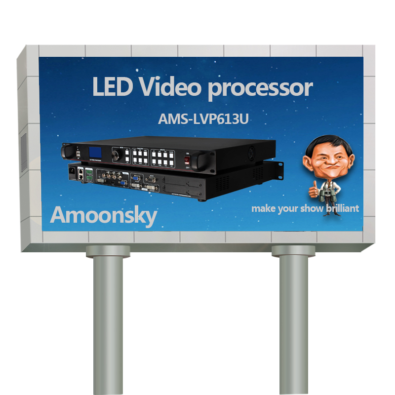 lvp613u add usb led panel board controller video audio switcher led display screen digital video switcher processor free shipping led display controller led video processor usb video processor ams lvp613 compar vdwall lvp515 with audio output
