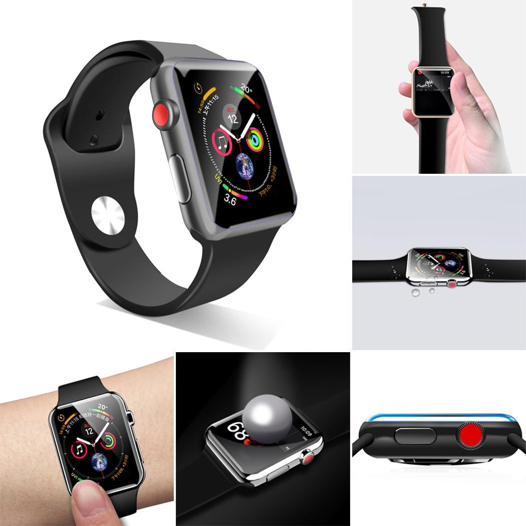 New Useful Transparent Smart Watch Screen Protector For iwatch
