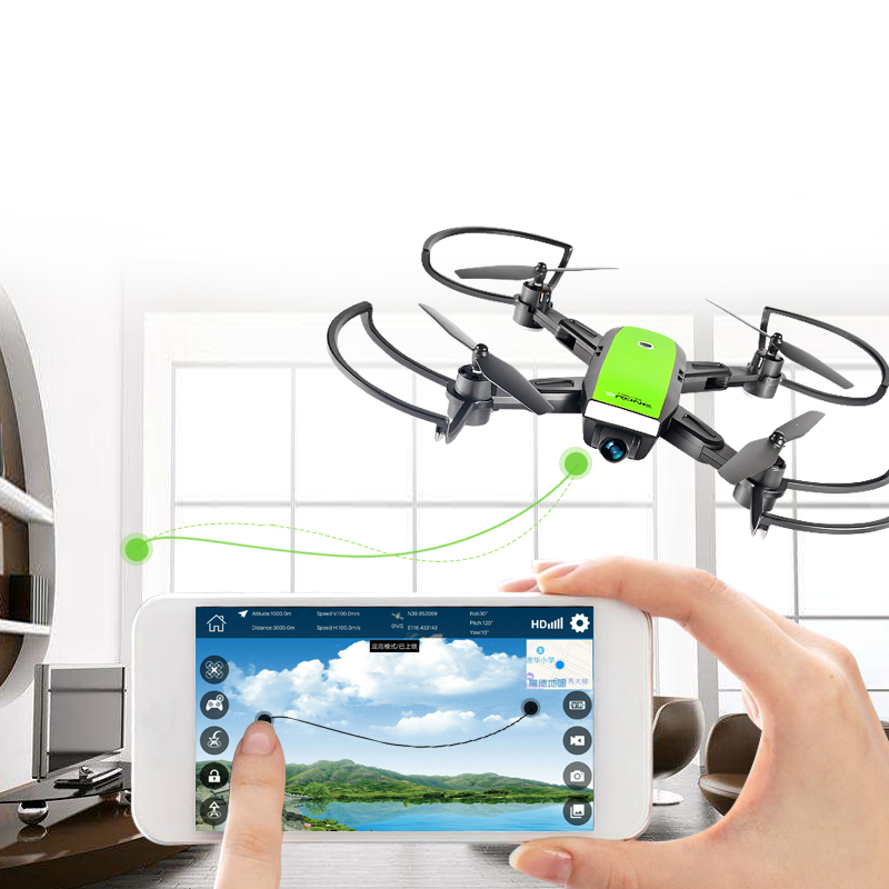 LH-X28 FPV aerial photography Pieghevole RC Drone Elicottero Con 0.3MP/2MP Fotocamera O Con Il GPS 2MP HD Della Macchina Fotografica Reale-tempo trasmission