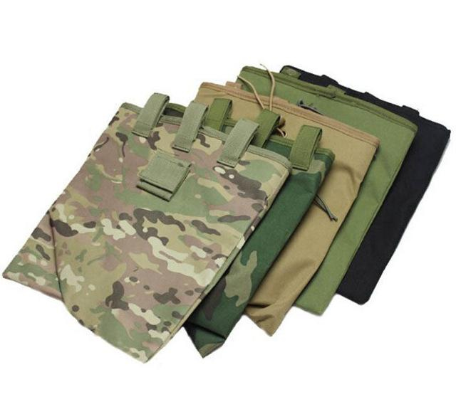 Outdoor Hunting Tactical Gear Dump Bag Airsoft Paintball Magazine Pouch Waist Vest Bag Black/Green/Tan/ACU/CP