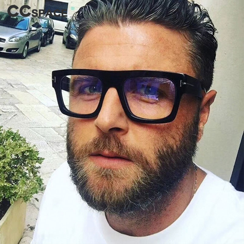 Retro Square Glasses Frames Men Women Trending Styles Optical Fashion Computer Glasses 45718