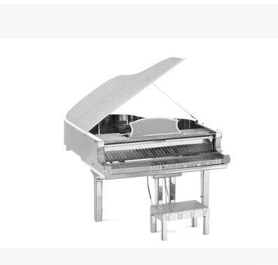 Envío gratis nuevo metal 3d rompecabezas modelo Instrumentos Musicales DIY 3D ro