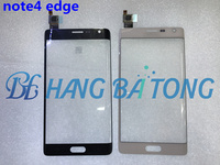 Original Front Glass Touch Panel for Samsung Galaxy note 4 edge N915 N9150 N915F Front Outer Glass Lens Cover Touch Screen+TP