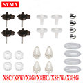Syma Motor Base Main Gears Blades Grip Lampshade Spindle Sleeve Spare Parts For X8 X8C X8W X8G X8HC X8HW X8HW RC Helicopter