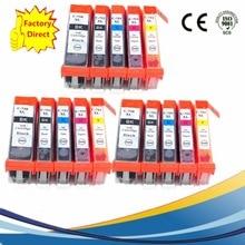 15 x PGI 750 PGI750 PGI-750 PGI-750XL CLI-751 Ink Cartridges For Canon Pixma MX 727 927 IP 7270 8770 IX 6770 6870 Inkjet Printer