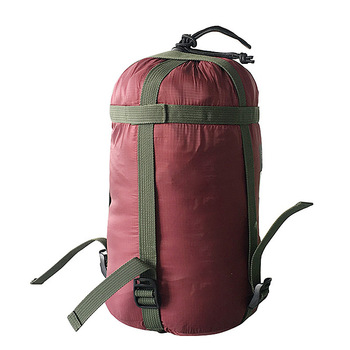 Outdoor Sleeping Bag Compression Sack Clothing Sundries Drawstring Storage Pouch Camping Equipment(Not included Sleeping Bag) 4
