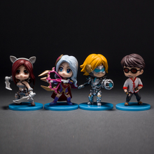 2016 new 4pcs/set  action figure 8.5cm pvc figure model toys for collection gift deluxe anime brinquedos hot sale juguetes