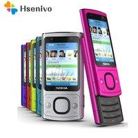 Original NOKIA 6700s 6700 Silder Mobile Phone 3G GSM Unlocked Refurbished Phone Purple & Hot sale Phone
