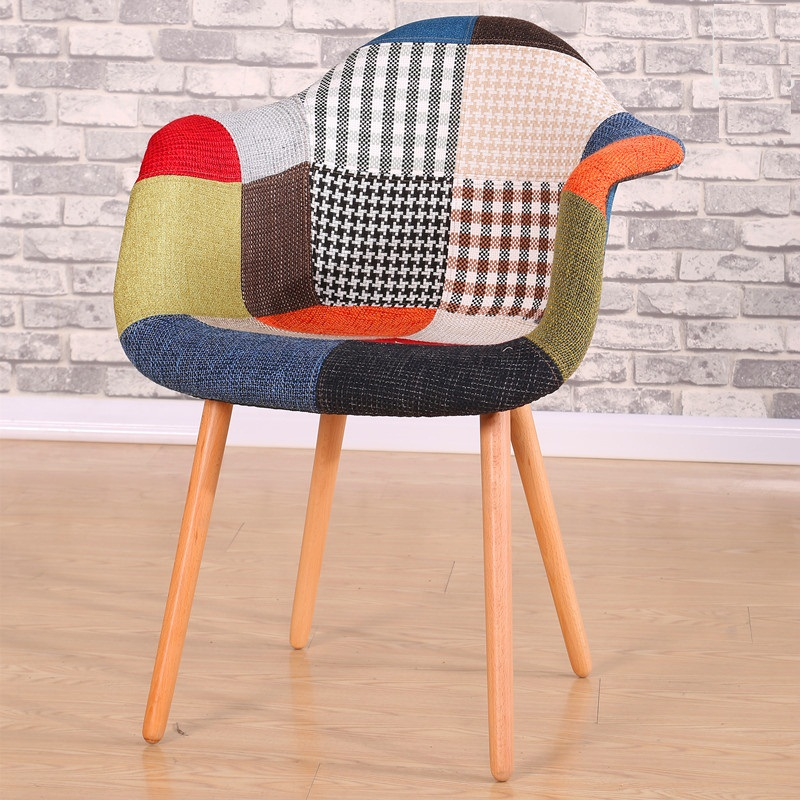 Free Shipping U Best Modern Design Armchair Plastic Stripe Dining Chairs,  Fabric Hotel Armchair Good Quality Chair  In Dining Chairs From Furniture  On ...