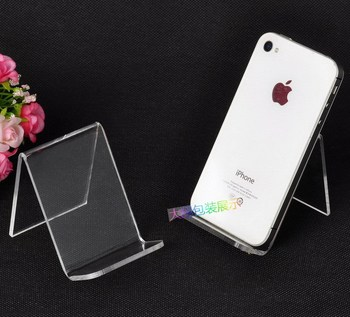 10pcs/lot Clear-view Mobile stand /wallet stand/camera display stand Holder Rack high-grade acrylic