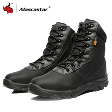 Motorcycle-Boots Special-Force Tactical Non-Slip Desert-Combat Army Quality