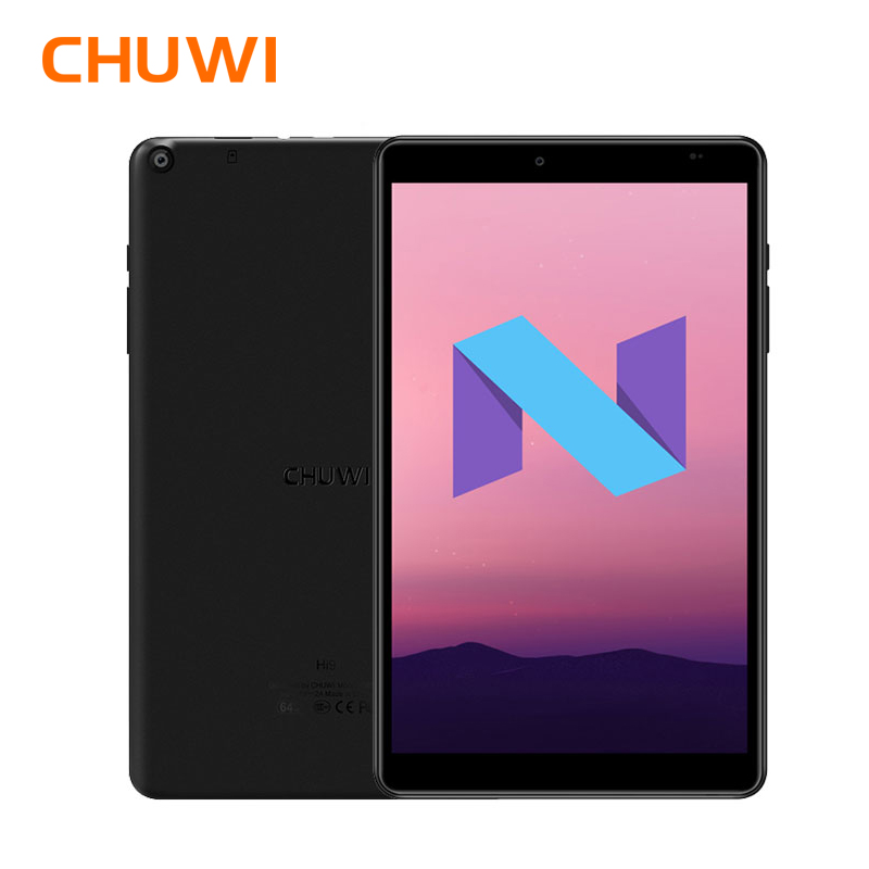 Originale CHUWI Hi9 Tablet PC MTK 8173 Quad core Fino a 1.9 GHz 4 GB di RAM 64 GB ROM Android 7.0 da 8.4 pollici 2.5 K schermo 5000 mAh