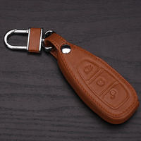 Genuine Leather Case For Ford Mondeo 3 Ecosport Accessories Focus 3 2 Mk2 Kuga Explorer Key