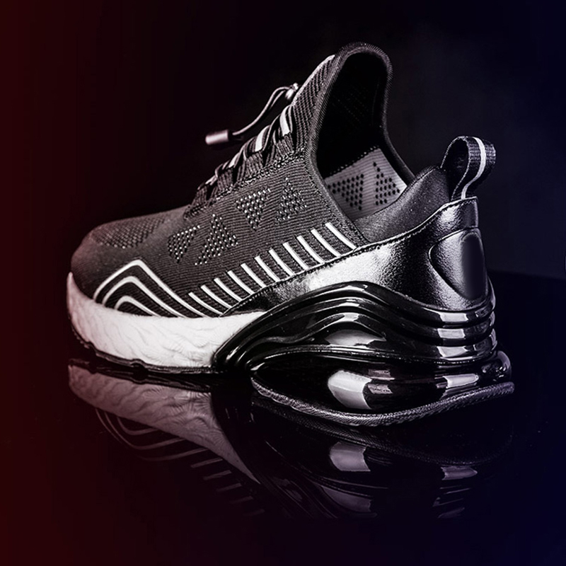 Image 5 - ONEMIX Men Running Shoes Sports Half Air Cushioning Slip On 