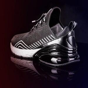 Image 5 - Onemix男性ランニングシューズスポーツハーフ空気クッションスリップ靴運動屋外trainning靴ウォーキングジョギングスニーカー