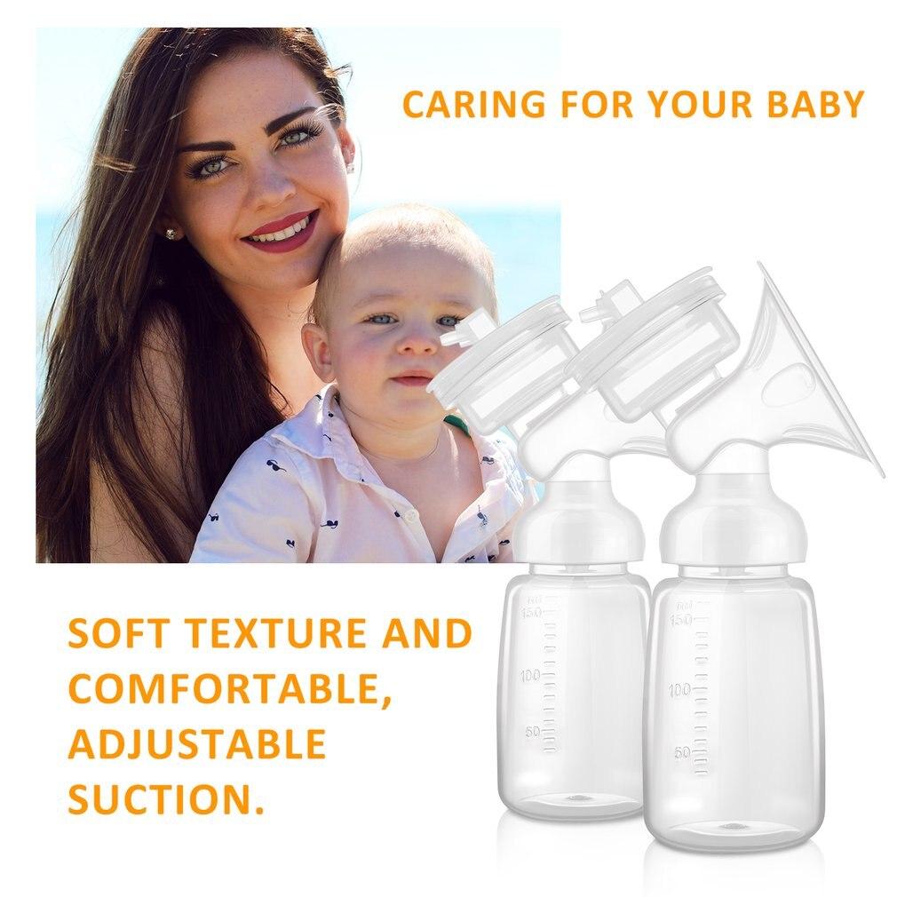 Krachtige Automatische Gratis Borstkolf Tepel Zuig Borst Elektrische Borst Pompen Babyvoeding Pomp Melk Sucker Massage Relax - 3