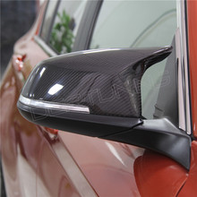 For BMW 3 Sereis F30 F31 2012 2013 2014 2015 2016 320i 328i 330d 335i M3 M4 Look Replacement style Carbon Fiber Mirror Cover