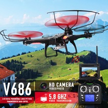 Hot Sale FPV font b RC b font Drones With Camera HD Professional Dron Quadcopters Remote