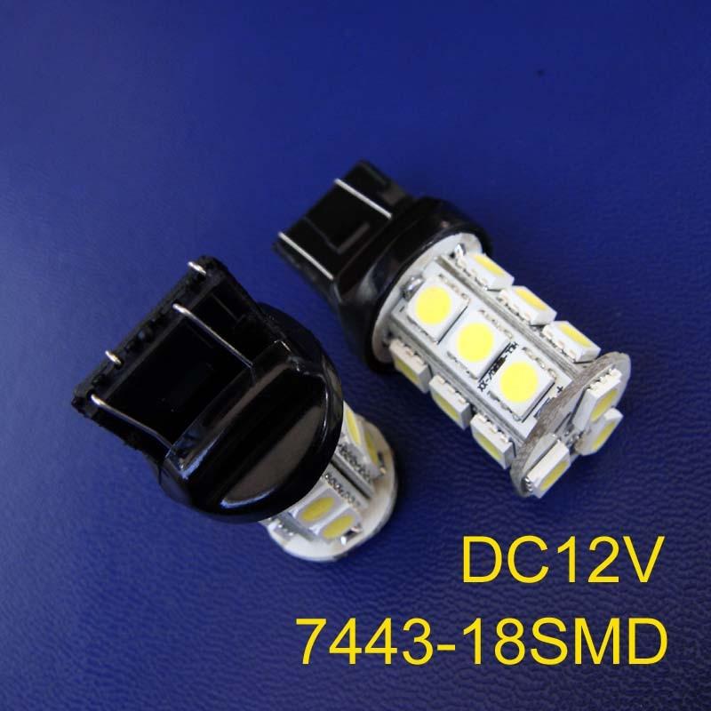 Light Bulbs High Quality 12v 3w T20 7443 Led Car Stoplights,auto W21/5w Led Bulb,led Brake Lights Rear Fog Lamp Free Shipping 20pcs/lot Fashionable Patterns Lights & Lighting
