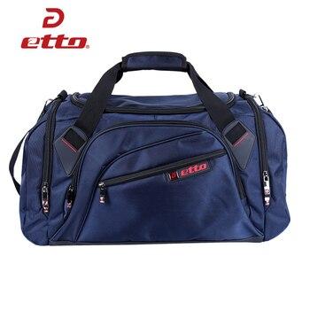 Etto Professionelle Große Sporttasche Sporttasche Männer Frauen Unabhängige Schuhe Lagerung Training Bag Tragbare Schulter Fitness Tasche HAB002
