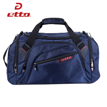 Etto profissional grande saco de desporto saco de ginásio das mulheres dos homens sapatos independentes saco de treinamento de armazenamento portátil ombro fitness hab002