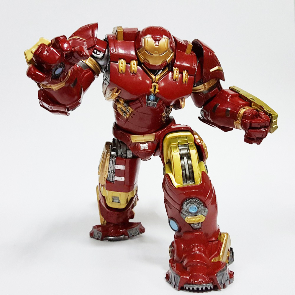 Tobyfancy Hulk Action Figure Hulkbuster Avengers 12 inch PVC Anime Movie Collectible Model Toy Superhero marvel select avengers hulk pvc action figure collectible model toy 10 25cm