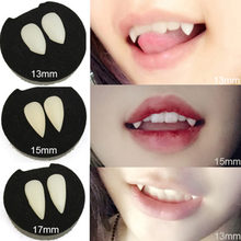 5 Styles Horrific Fun Clown Dress Vampire Teeth Halloween Party Dentures Props Zombie Devil Fangs Tooth With Dental Gum(China)