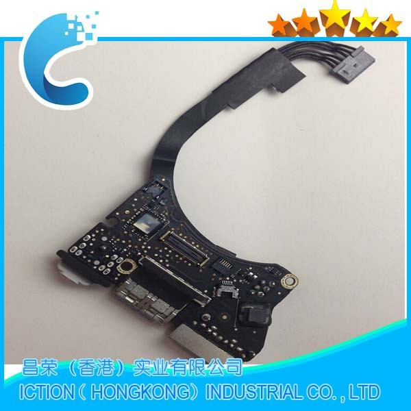 все цены на Original DC Power Audio Board For Macbook Air 11 inch A1465 DC Power Jack 820-3213-A MD223 MD224 2012 онлайн