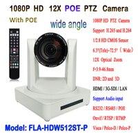 Видео потоковое IP POE PTZ оборудование для камеры HDMI 3G SDI 12x Zoom для церковной речевой конференции
