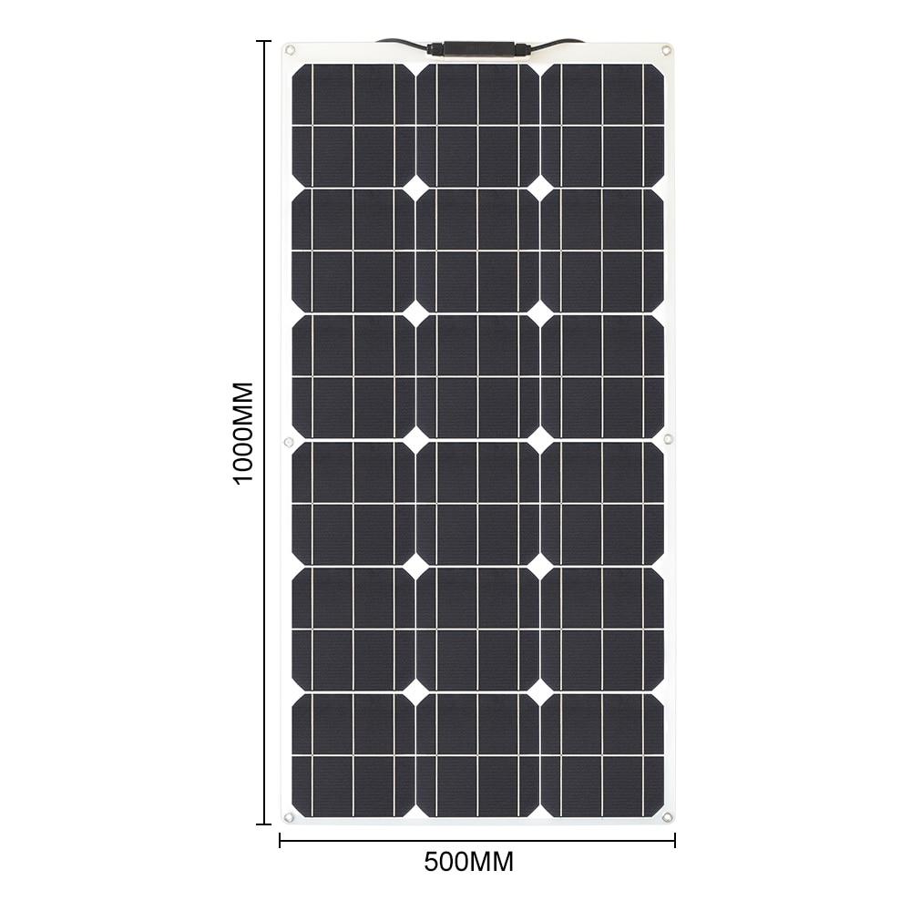 80W 18V flexible solar panels 2