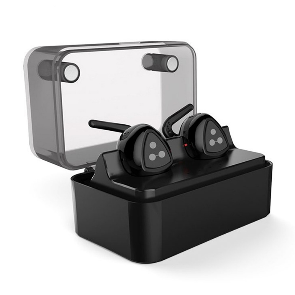 New D900 MINI  Wireless Earphone Stereo Headset Wireless  Bluetooth Earbuds with Charge Box for iPhone remax 2 in1 mini bluetooth 4 0 headphones usb car charger dock wireless car headset bluetooth earphone for iphone 7 6s android