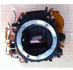 95% NEW D7100 Mirror Box Small Main Box Body Frame With Reflective glass,Aperture Control Motor,No Shutter For Nikon D7100